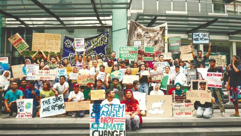 Green group urges govt to do more about climate change