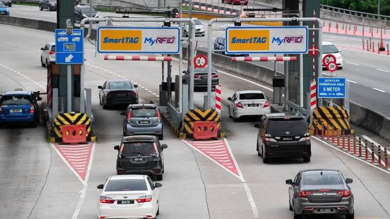 RFID payment at 10 PLUS toll plazas from Jan 1