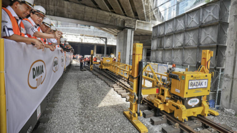 The double track project is under scrutiny.