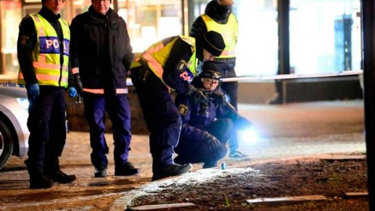 Eight injured in 'suspected terrorist' stabbings in Sweden