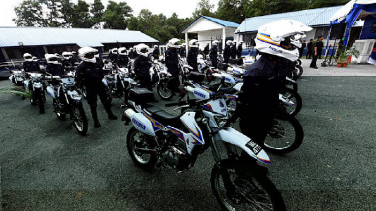 Police to receive 871 high-powered motorcycles for URB this year
