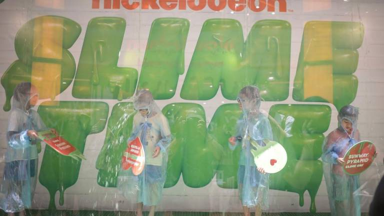 Slime time at Sunway Pyramid