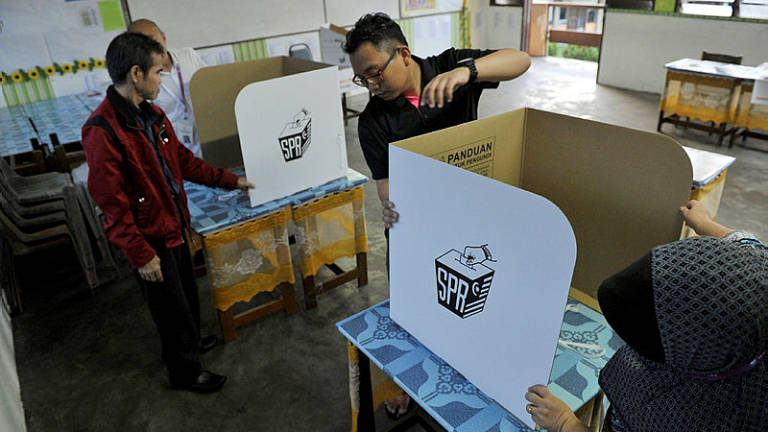 Polling begins in Sandakan