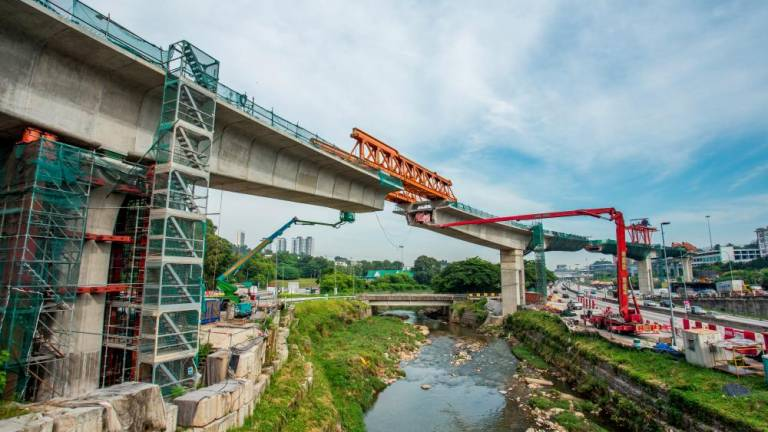 MRT SSP line at 58.9% completion as at Aug 31 this year