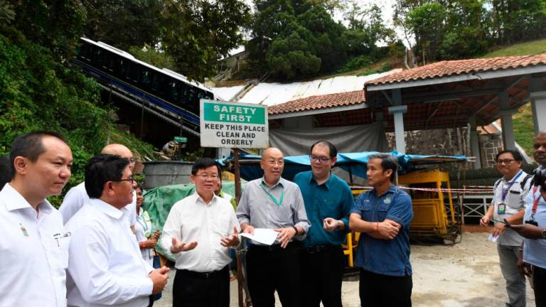Four restoration projects in Penang Hill completed: Chow
