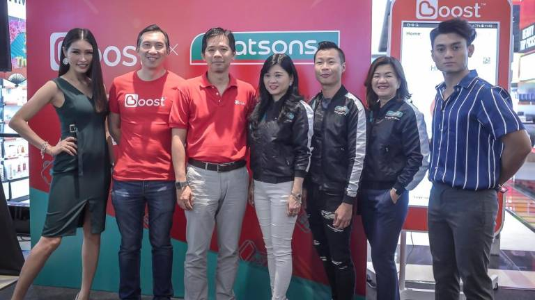 A rewarding shopping experience at Watsons stores with Boost