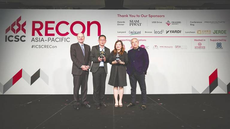 Asia Pacific recognition for mall group