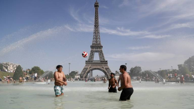 Paris braces for record heat as Europe scorched again