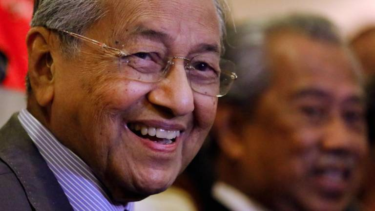 "Tun M: Ku Li has more experience about ""self-implosion"""
