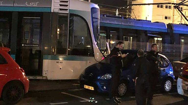 Light rail collision in Paris suburb injures 12
