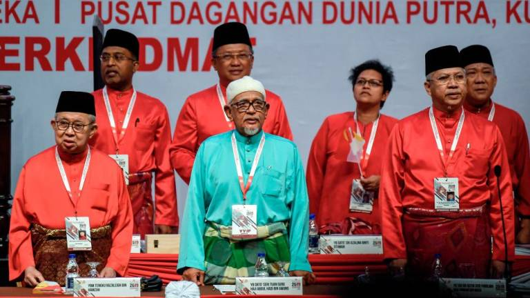 History made as Hadi attends Umno general assembly
