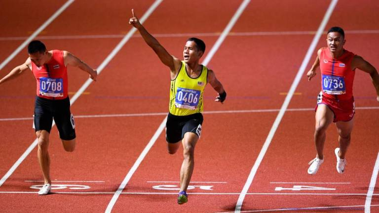 Muhammad Haiqal crowned South East Asia's sprint king