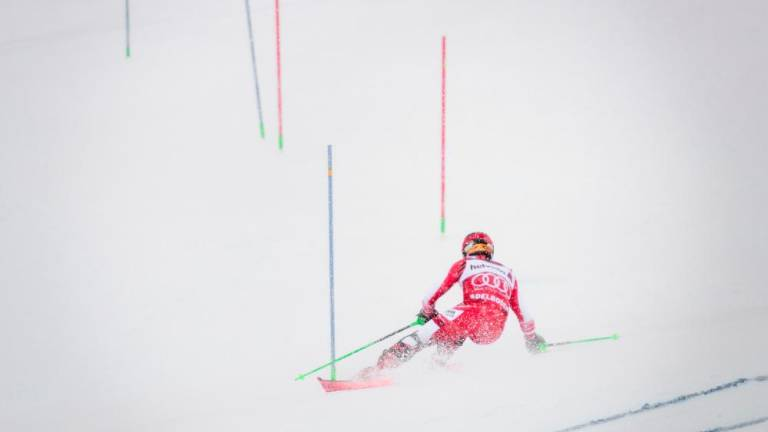 Hirscher proves point on perfect Swiss weekend