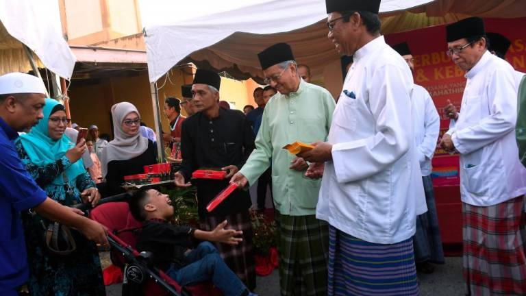 Don't be too dependent on offerings: Dr Mahathir