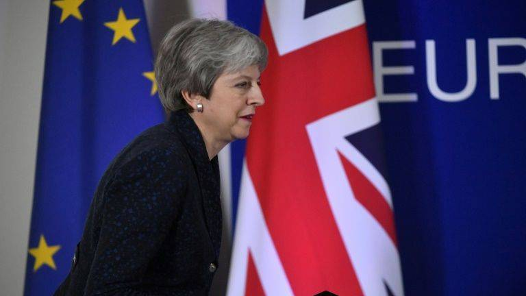 Next week could see MPs vote for a third time on May's unpopular withdrawal agreement. — AFP