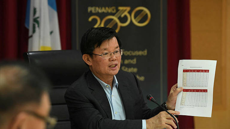 Penang govt to bear all operational deficits for Komtar-Bayan Lepas LRT line
