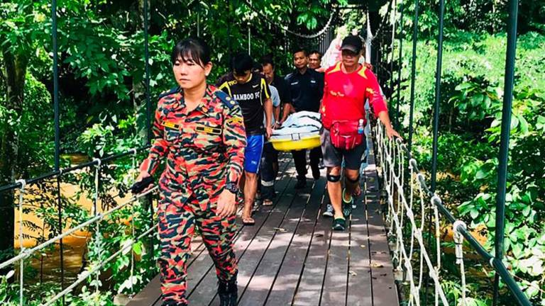 SAR at Mulu National Park suspended due to heavy rain