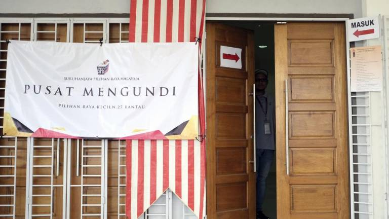 Rantau by-election: 96% turnout of early voters