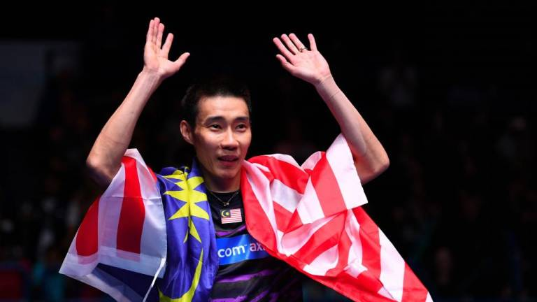 Thank you, champion Chong Wei: Tun Dr Mahathir