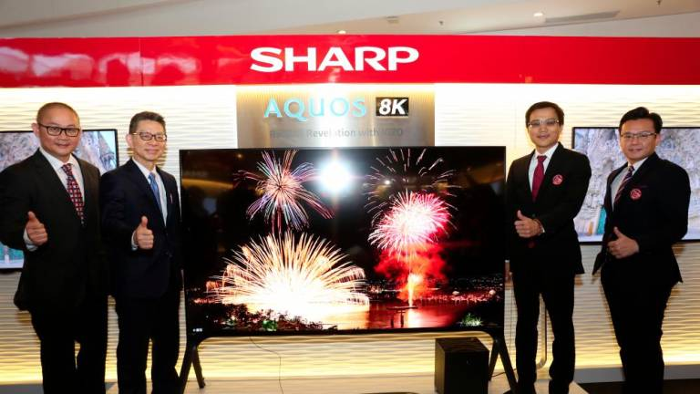 Sharp unveils first 8K TV for the consumer market
