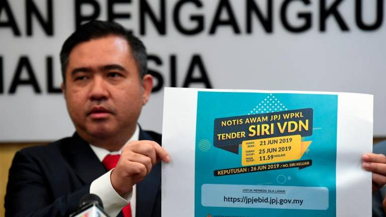 E-bids for 'VDN' plate series to begin on June 21
