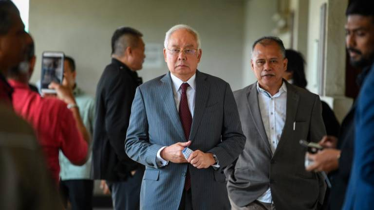 Najib spent US$38,695 in one day at House of Bijan in Beverly Hills, US
