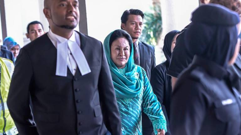(Video) Rosmah claims trial to bribery charge involving RM5m - Updated