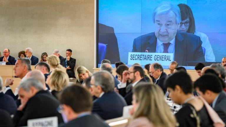 Human rights under assault worldwide: UN chief