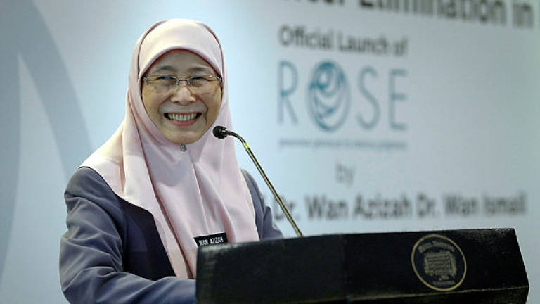 Trustworthy workers pillars of country's progress: Dr Wan Azizah