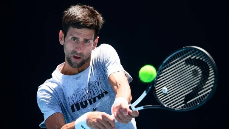 Djokovic insists no decision on ousting ATP Tour chief