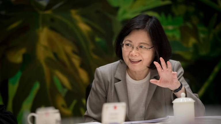 Taiwan 'already independent', president warns China