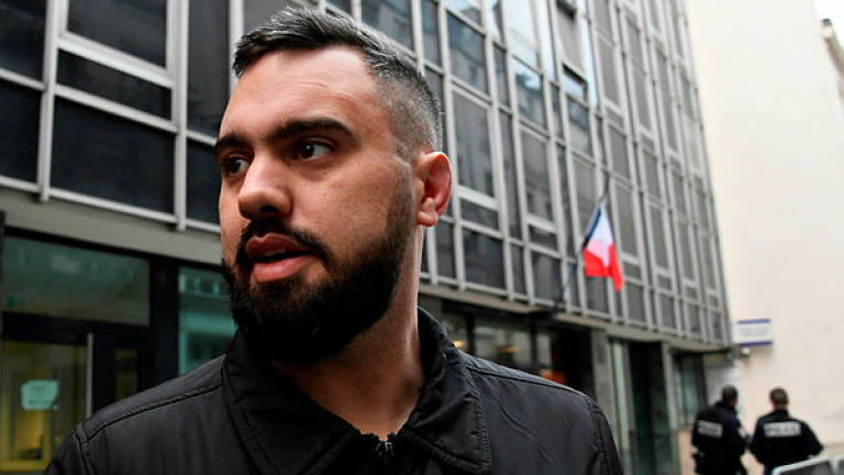 French 'yellow vest' boxer on trial for assaulting police