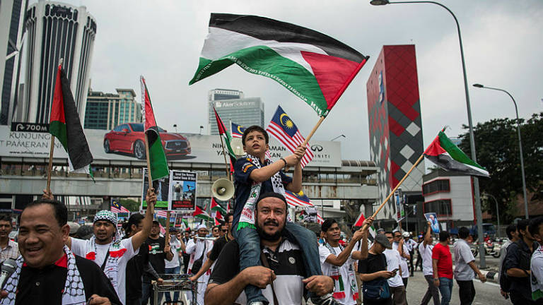 Malaysia respected by Arab countries for supporting Palestinian cause