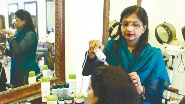 Combating hair problems with Neeta's