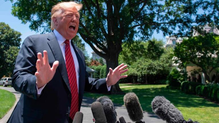 Trump exhorts Republicans to 'get tougher' against impeachment inquiry