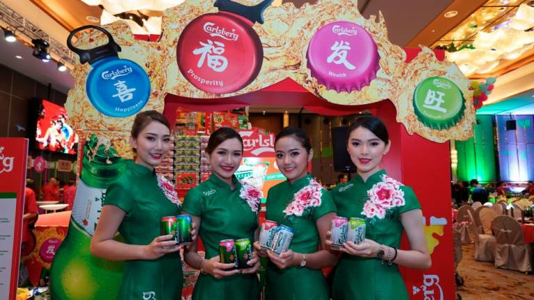Celebrate prosperity, happiness, wealth and good luck with Carlsberg this CNY