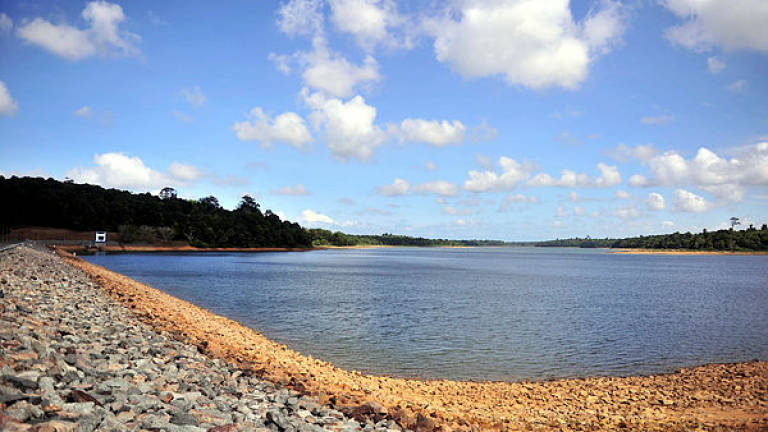 Water levels dip at Johor's dams and intakes as dry spell continues