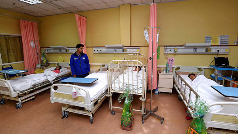 Chemical pollution: 119 patients discharged from HSA, HSI
