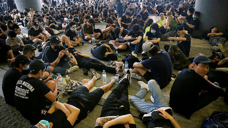 Hong Kong in security lockdown as it braces for latest mass protest