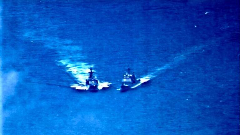 (Video) US, Russia ships almost collide in East China Sea