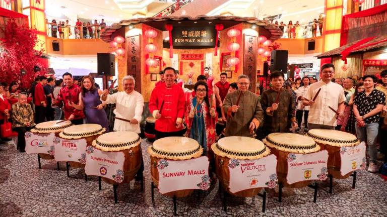 A Chinese heritage celebration at Sunway Malls