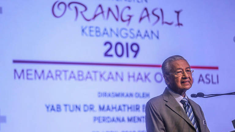 Efforts to enhance Orang Asli education main gov't agenda: Mahathir (Updated)