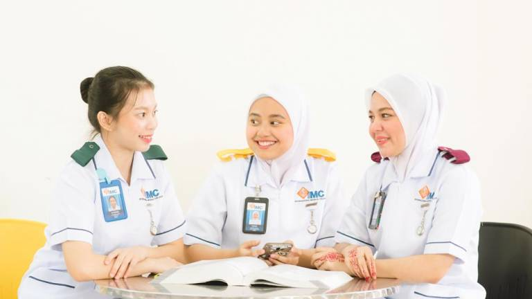 Learn nursing at IMC