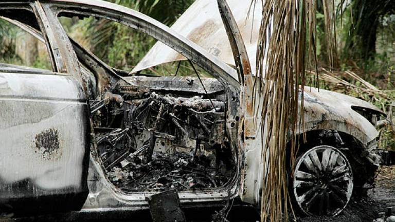 Three charred victims in Bera accident identified