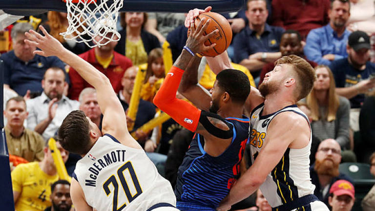 Pacers overcome Westbrook's triple double to edge Thunder