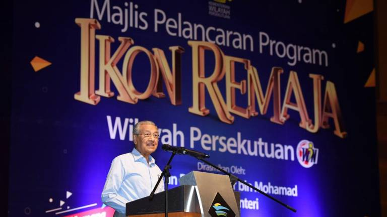 New Perak MB? No such thing: Dr Mahathir