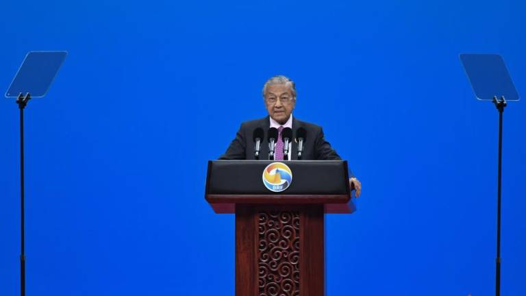 Mahathir expresses Malaysia's support for China's Belt and Road initiative (Updated)