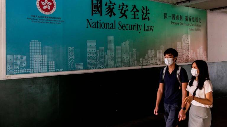 Hong Kong security law sends jitters through city's feisty press