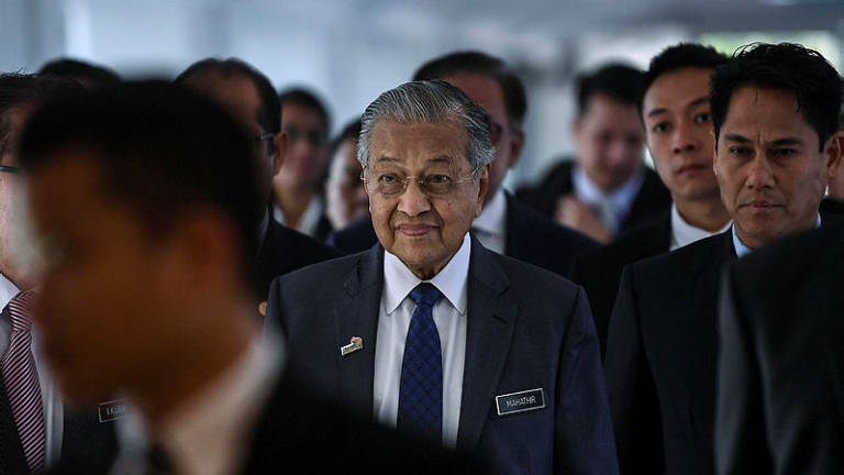 Respect judiciary process on Najib's case: Mahathir
