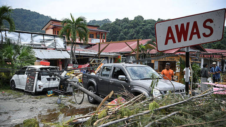 Maximum RM5,000 aid for each house affected by storm in Kedah
